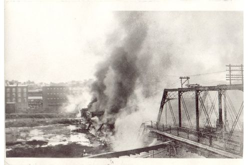 Iron Bridge Fire June 30 1927
